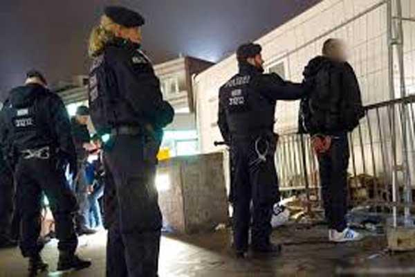 الشرطة الألمانية منتشرة إثر الواقعة