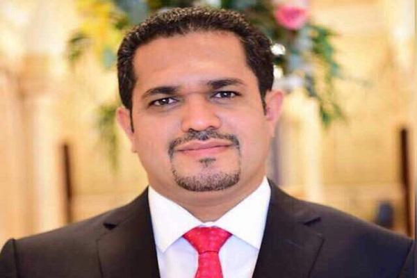 وزير حقوق الإنسان اليمني الدكتور محمد محسن عسكر