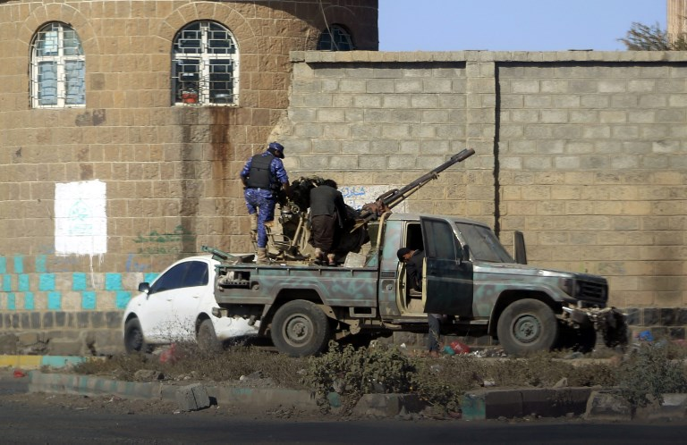 جانب من المعارك في صنعاء