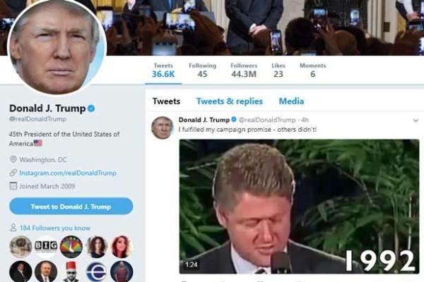 نص تغريدة ترمب وكلام الرؤساء السابقين عن القدس