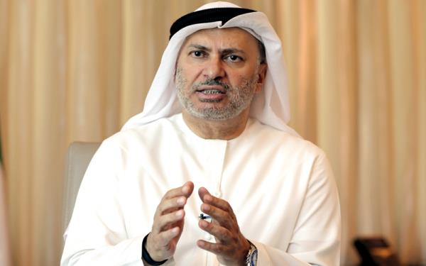 أنور قرقاش وزير الدولة للشؤون الخارجية الإماراتية