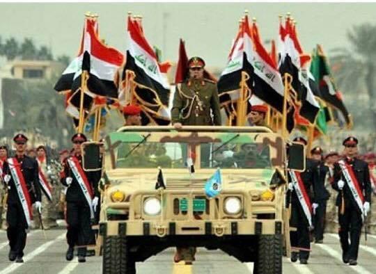 استعراض عسكري في العراق