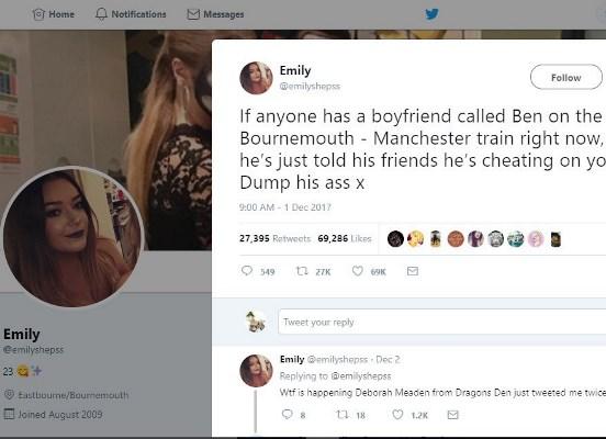 هذه التغريدة فضحت الشاب بعد أن تمت مشاركتها لآلاف المرات