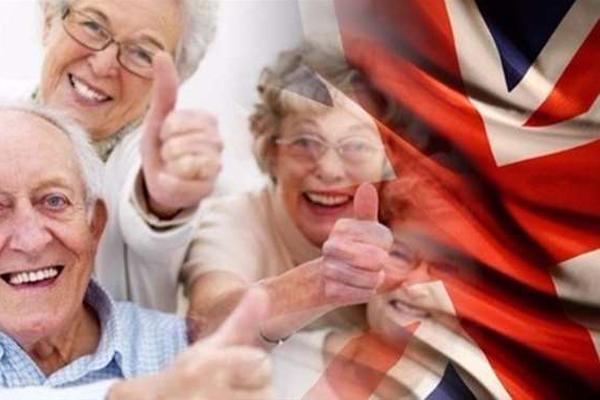 متوسط العمر الذي يعيشه الفرد البريطاني يزداد