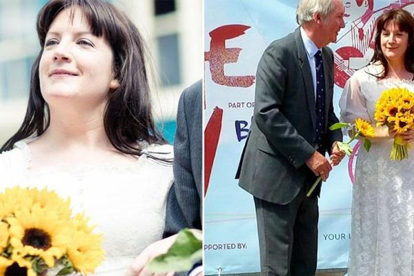 بريطانية تتزوج من نفسها وتخونها