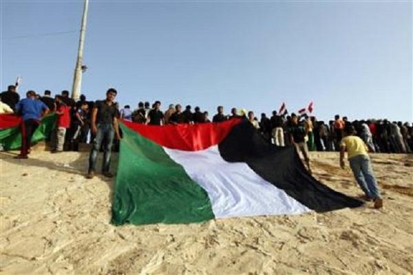 تظاهرة عراقية دعما للشعب الفلسطيني