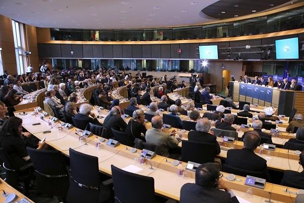 مؤتمر الاتحاد الاوروبي عن انتهاكات حقوق الانسان وتزايد الاعدامات في ايران