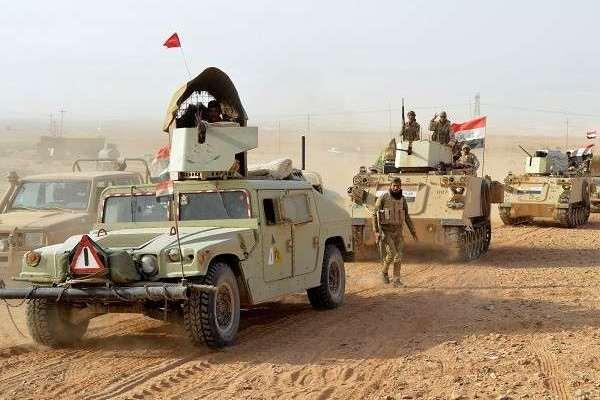 قوات عراقية تتقدم في صحراء البلاد الغربية