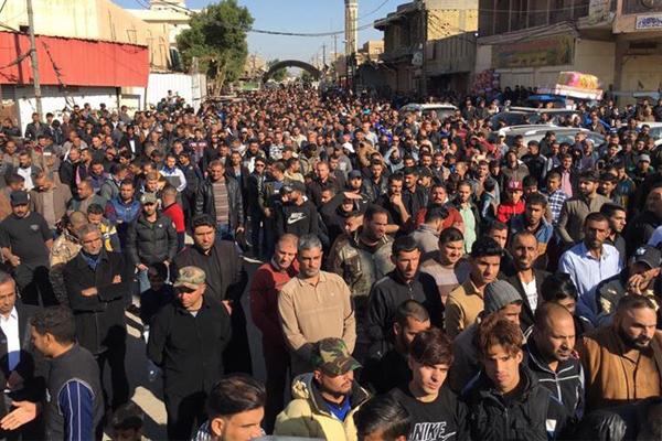 تظاهرات في العراق تنديدًا بقرار ترمب بشأن القدس