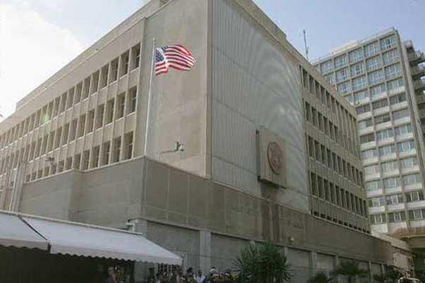 السفارة الاميركية باسرائيل