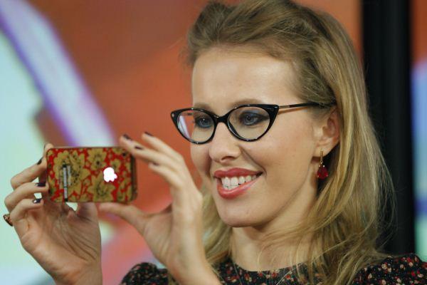 منافسة بوتين الصحافية والمقدمة كسينيا سوبتشاك