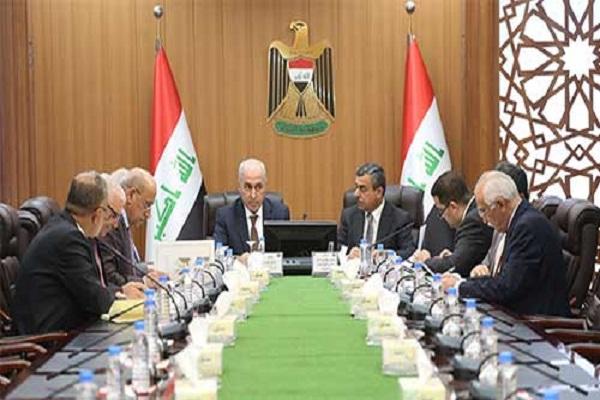 الجانب العراقي بمجلس التنسيق السعودي العراقي مجتمعا