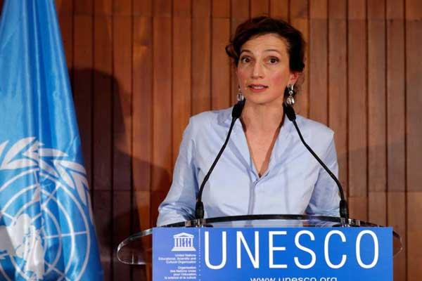 أودري أزولاي، المديرة العامة لليونسكو