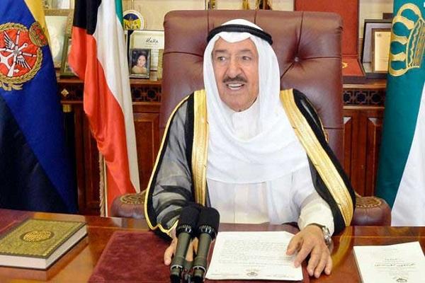 الشيخ صاح الأحمد أمير الكويت