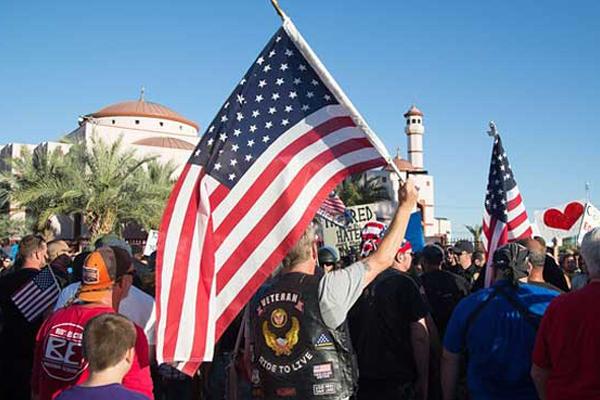 تزايد التظاهرات في الولايات المتحدة الأميركية