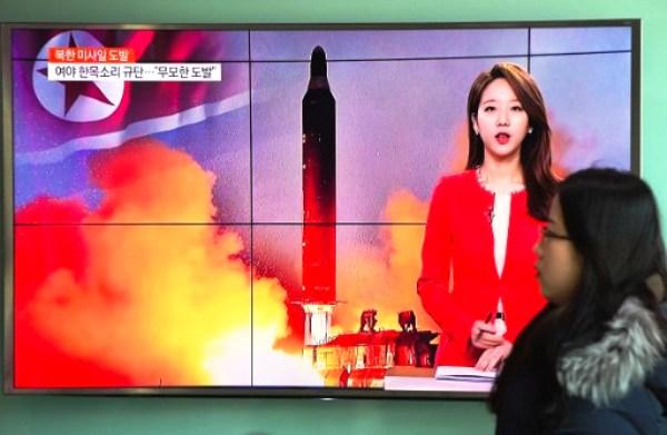 كوريا الشمالية تطلق صاروخا بالستيا وواشنطن وسيول وطوكيو تطلب اجتماعا عاجلا لمجلس الامن