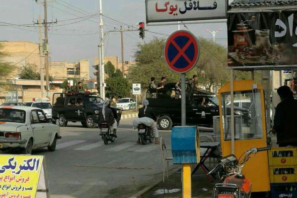 قوات ايرانية تفرض هيمنتها على مدينة الفلاحية العربية