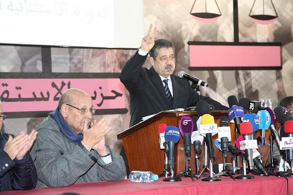 حميد شباط الأمين العام لحزب الاستقلال