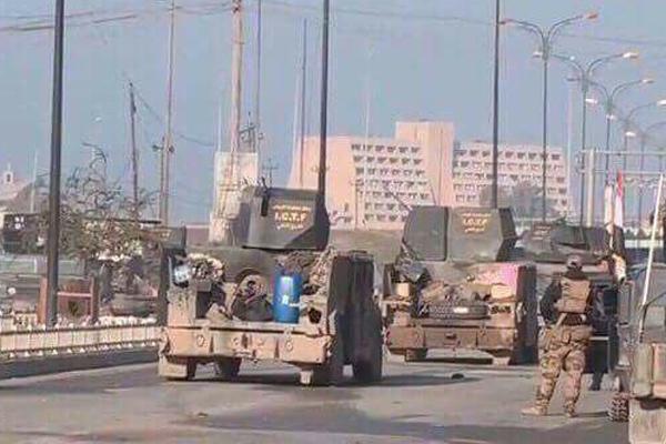 قوات عراقية بداخل مدينة الموصل
