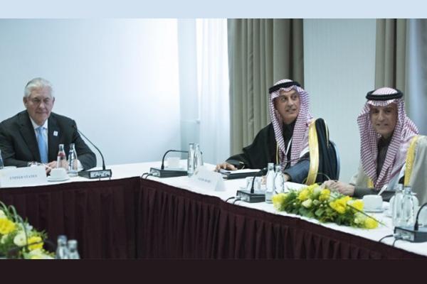 الوفدان السعودي والأميركي