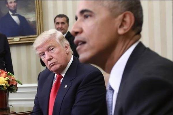ترامب يتهم ... وأوباما ينكر