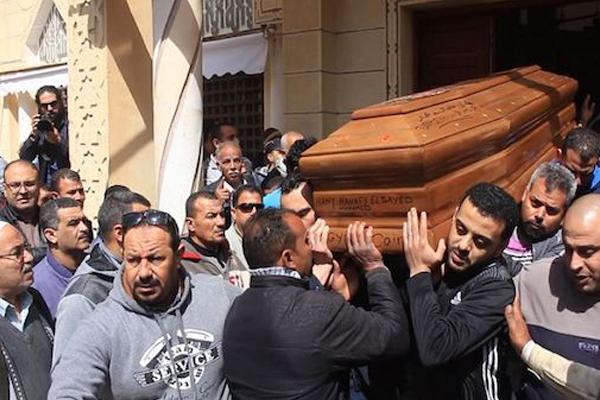 جثمان امواطن المصري هاني حنفي