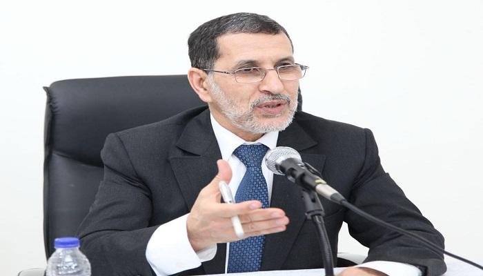 سعد الدين العثماني رئيس فريق العدالة والتنمية بمجلس النواب