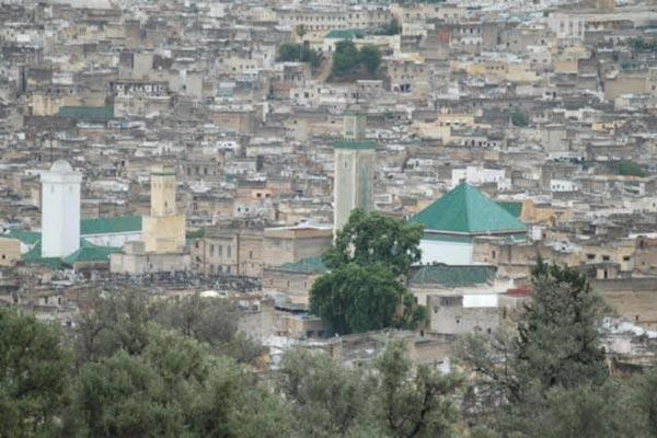 مشهد عام لمدينة فاس