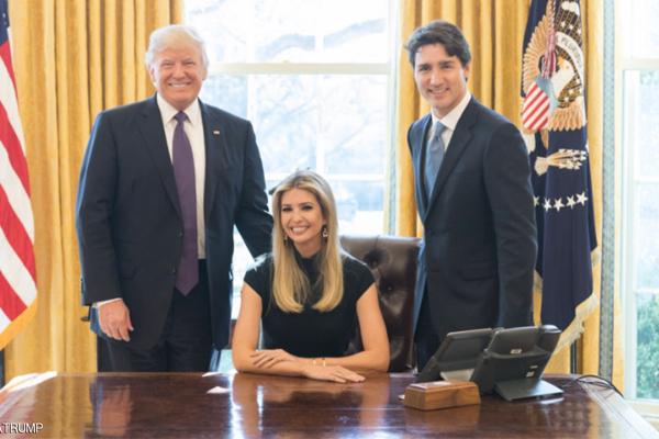 ايفانكا ترامب في البيت الأبيض
