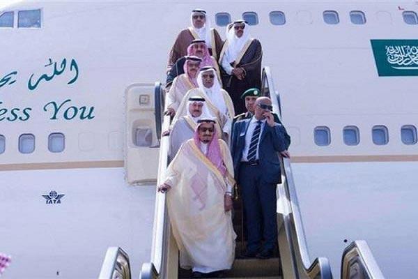 العاهل السعودي في ربوع الوطن بعد اختتام جولة آسيوية