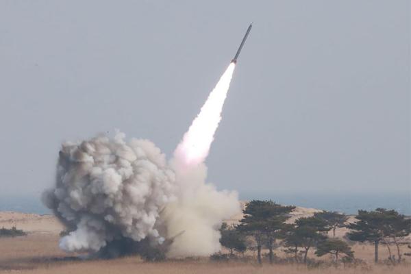 تجربة صاروخية فاشلة لكوريا الشمالية