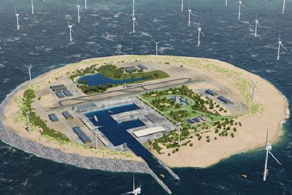تكتمل الجزيرة الأولى في العام 2035