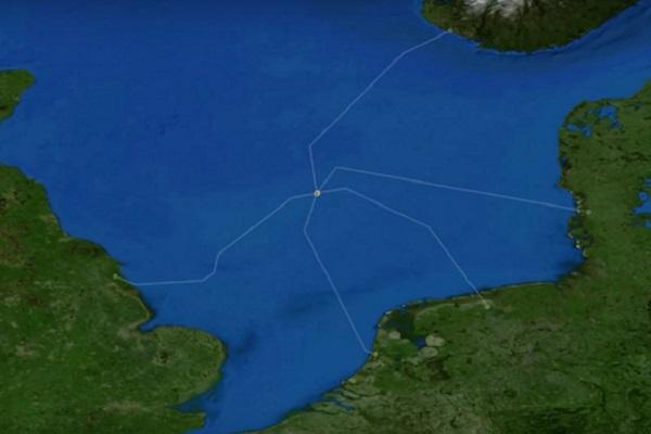 جزر اصطناعية لإنتاج الطاقة من الريح