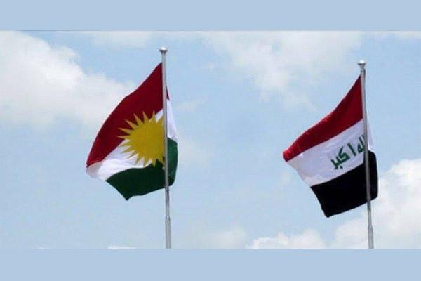 رفع علم كردستان الى جانب العلم العراقي