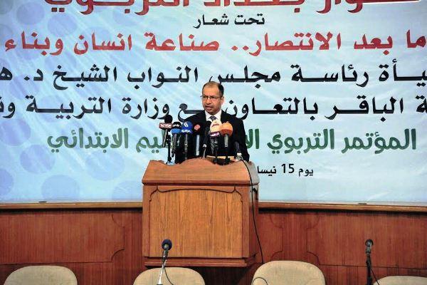 الجبوري: الفاسدون أفرغوا خزينة البلد من أموال العراقيين