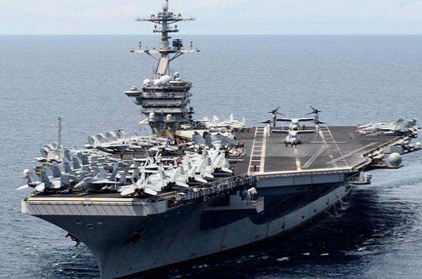 بارجة أميركية في بحر الصين الجنوبي