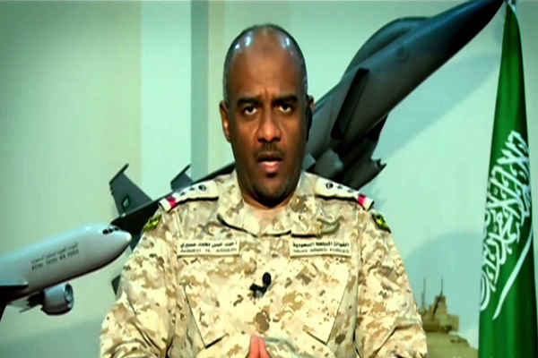 اللواء أحمد عسيري المتحدث باسم قيادة التحالف العربي