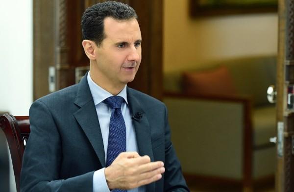 بشار الأسد - سبوتنيك