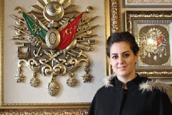 الأميرة نيلهان حفيدة السلطان العثماني