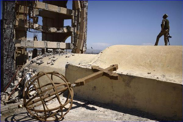 مقاتل آشوري في قرقوش