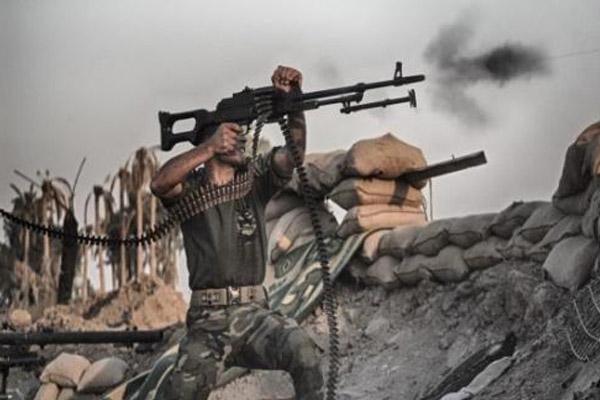 الحشد الشعبي في مواجهة داعش