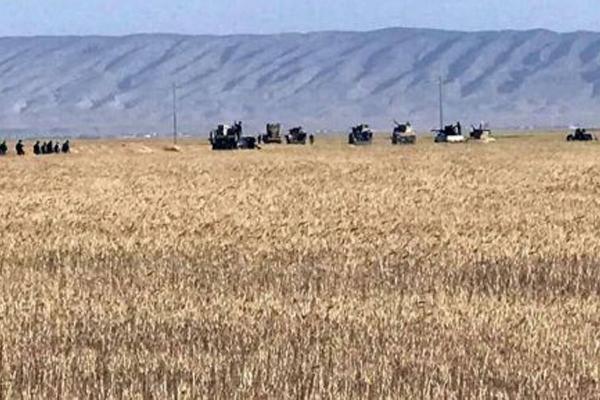 قوات الحشد الشعبي تحصن مواضعها على الحدود العراقية السورية