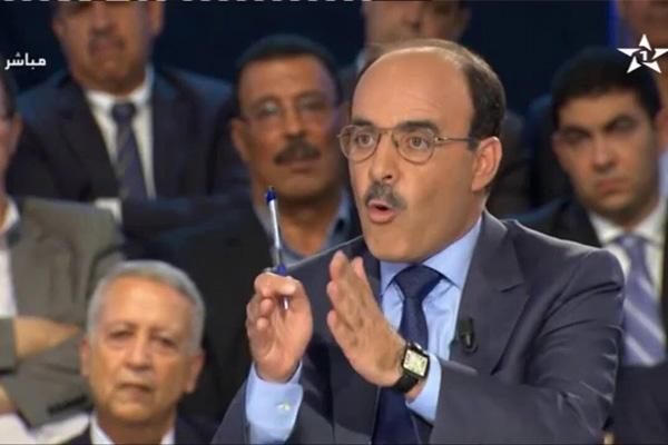 إلياس العماري أمين عام حزب الأصالة والمعاصرة المغربي