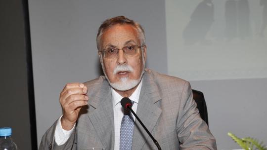 مولاي اسماعيل العلوي الأمين العام السابق لحزب التقدم والاشتراكية