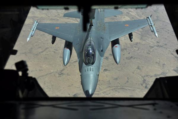 طائرات تابعة للتحالف الدولي ضدّ داعش خلال طلعات فوق الأجواء السورية - أرشيفية