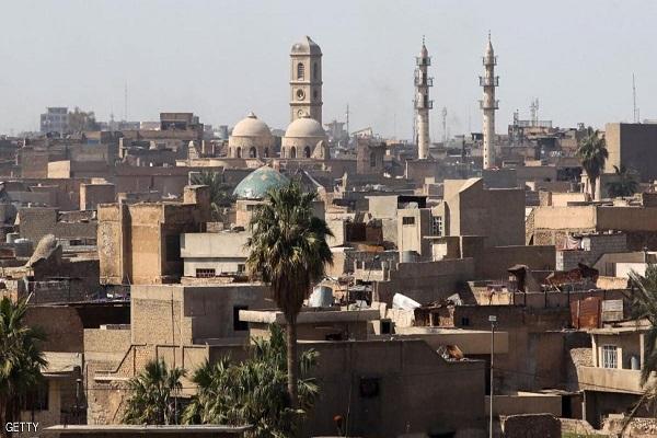 مسجد النوري الكبير بوسط الموصل القديمة