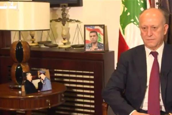 وزير العدل اللبناني السابق اشرف ريفي