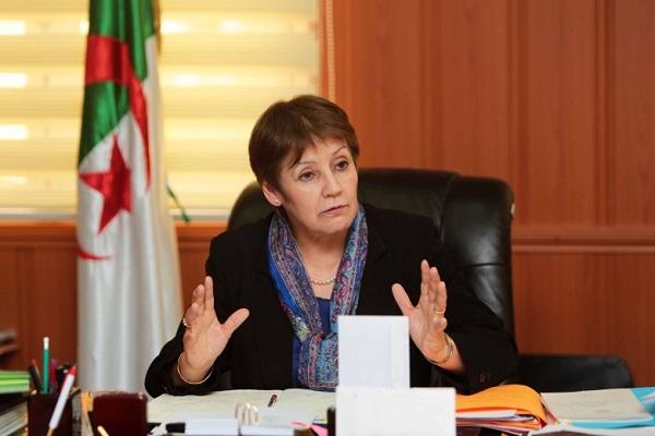 الوزيرة نورية بن غبريت