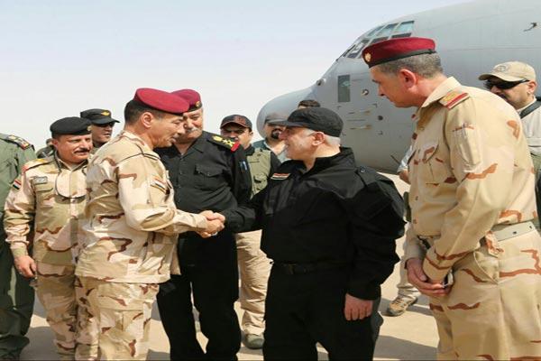 العبادي في الموصل يبارك