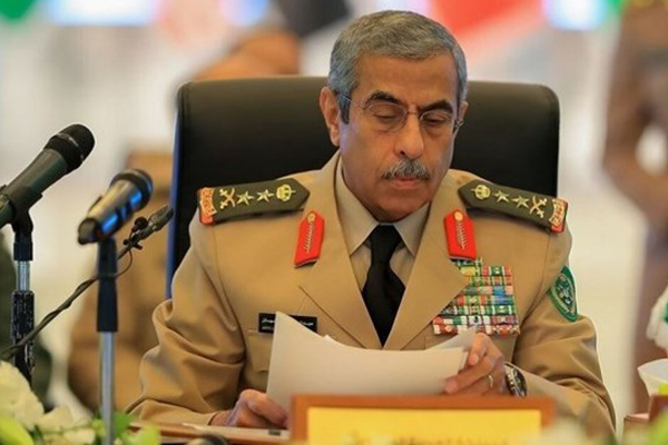 رئيس الاركان السعودي الفريق الأول الركن عبد الرحمن بن صالح